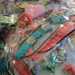 Jewelry and hair accessories lot  100 pieces
